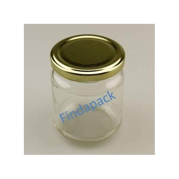 pots en verre ronds 228 ml to 63 id 233 al pour les confitures