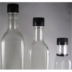 bouchon plastique pour bouteille carr e bague pp 31 5. Black Bedroom Furniture Sets. Home Design Ideas