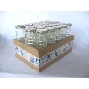 pots ronds 106 ml avec couvercle aux choix livraison 72. Black Bedroom Furniture Sets. Home Design Ideas
