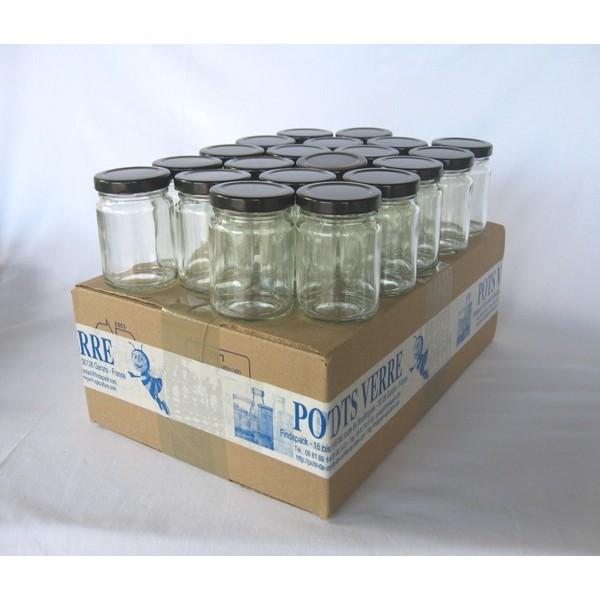 pots ronds 106 ml avec couvercle aux choix livraison 72 heures. Black Bedroom Furniture Sets. Home Design Ideas
